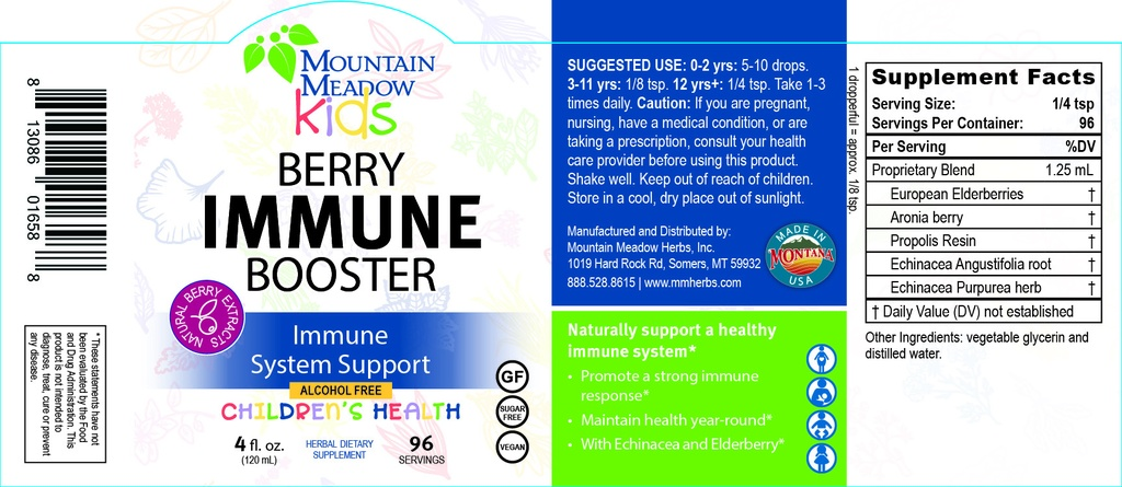 Berry Immune-Booster (4 oz.)
