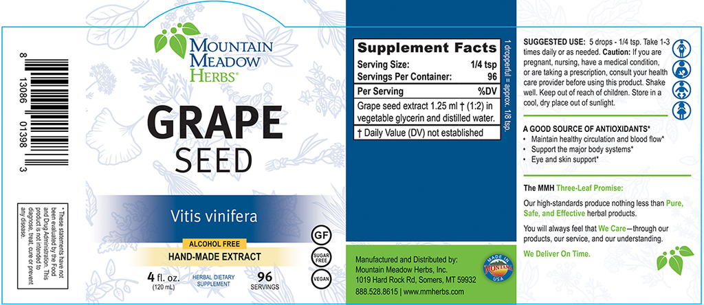 Grape Seed Extract (4 oz.)