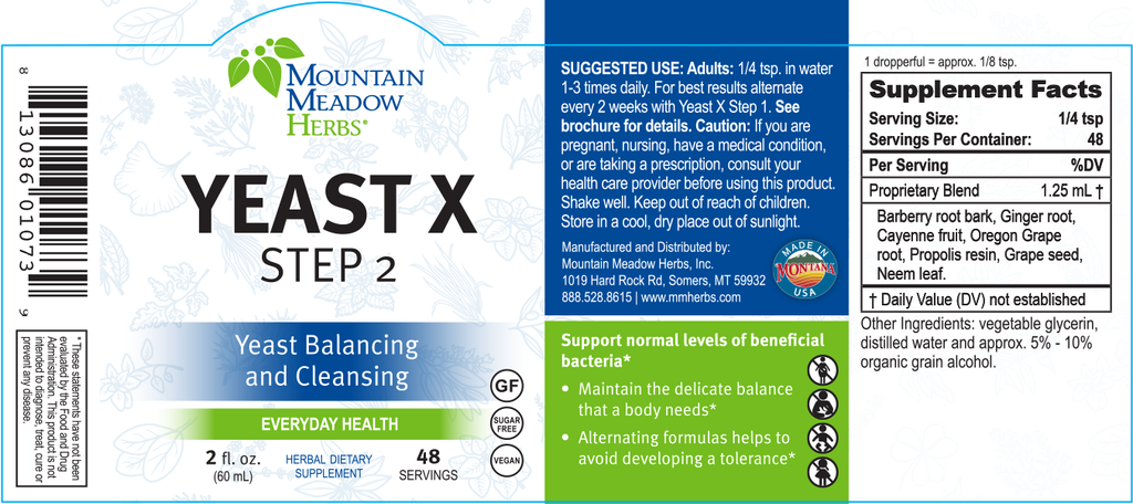 Yeast X Step 2 (2 oz.)