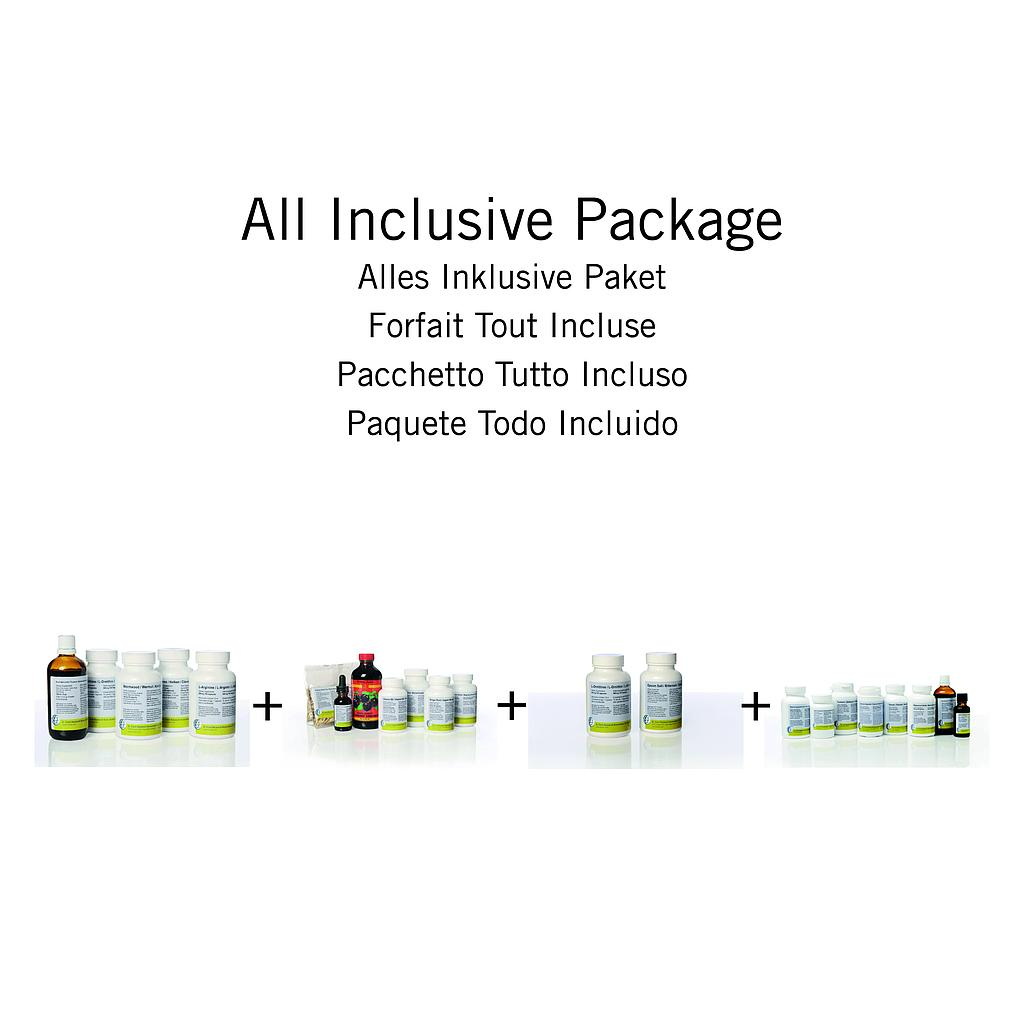 ALL-INCLUSIVE PACKAGE