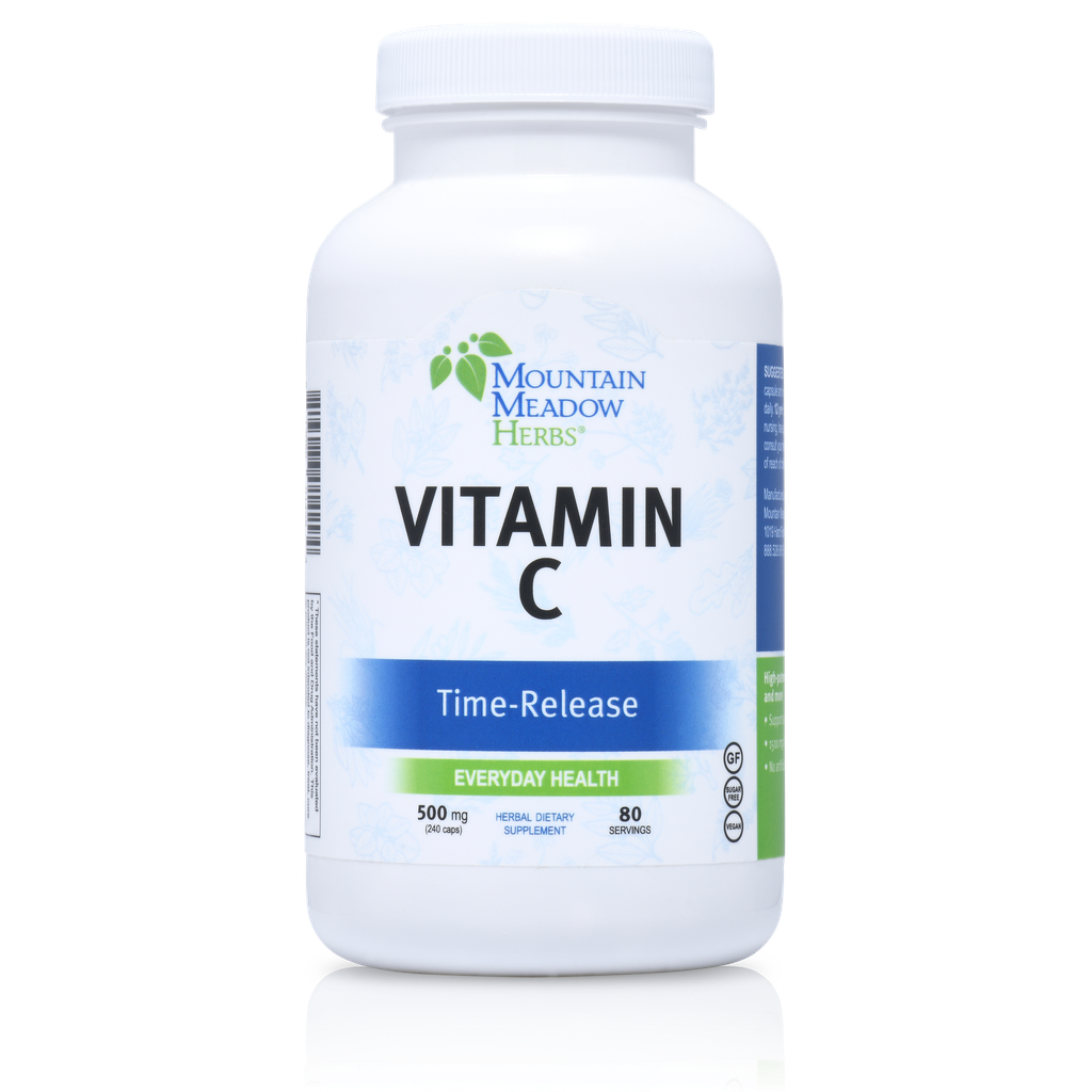 Vitamin C Time-Released 500 mg Capsules (240 ct.)